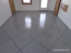 Epoxy Chip Coating - Granite Tile - New Haven, Indiana (Decorative Concrete Kingdom) Tags: tile indiana granite newhaven contractor fortwayne resurface decorativeconcrete epoxyflooring epoxypaint epoxycoating