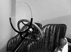 Detail of the Ford T Speedster. 1911. (Eduardo Estéllez) Tags: blackandwhite bw españa cars ford blancoynegro car photography monocromo photo spain foto photographer antiguos salamanca fotografia historia antiguo coches speedster fotografo 1911 vehiculos castillayleon blackwhitephotos automocion vetonia fordtspeedster eduardoestellez estellez museodehistoriadelaautomocióndesalamanca fundacióngómezplanché