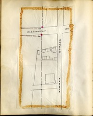 Book of Maps and Photographs showing Position of Boundary Marks: Page 57 (City of Boston Archives) Tags: boston publicworks 1896 perambulation historicboston