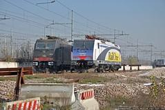 Colpaccio! (Raffaele Russo (LeleD445)) Tags: railroad container msc bombardier traxx melzo scalo railfans e474 e484 railone