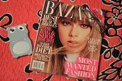 13 (maybethree) Tags: harpers magazine glasses day ipod touch case hippo 365 bazaar 13 thirteen iphone