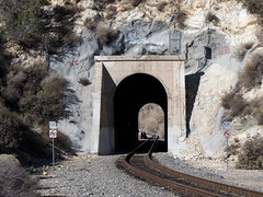 Soledad Canyon Metrolink (0387) (DB's travels) Tags: california railroad metrolink tempcrr