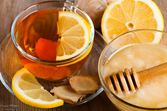 Tea for cold (oksix) Tags: food brown plant hot macro cooking cup nature glass yellow closeup fruit table asian cuisine gold golden ginger wooden lemon healthy raw tea drink sweet background spice chinese cell dry fresh health honey condiment medicine taste citrus organic transparent root chill prevention section herb herbal seasoning aroma ingredient homeopathy