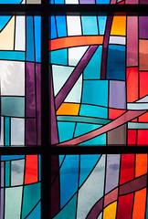 vitral (filipeb) Tags: portugal architecture arquitectura interior sacred pintor vitral sagrado carlzeiss filipebrandão valedecambra zf2 nikond700 distagont2825 distagon2528zf2 agostinhoricca domingospinho