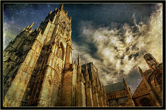 York Cathedral. (B Gilmour.) Tags: york history texture architecture ancient worship cathedral religion gothic medieval yorkminster minster englishgothicarchitecture