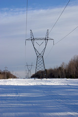 Power lines in Gaylord, Michigan (NETL Multimedia) Tags: energy michigan powerlines research powergrid energylab timford nationallab netl nationalenergytechnologylaboratory