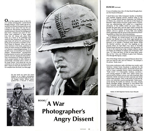 LIFE Magazine 5 April 1968 - A War Photographer's Angry Dissent