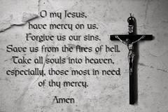 THE DOXOLOGY (handywallsii) Tags: blackandwhite bw white black words truth catholic peace christ god faith prayer overlay thoughts crucifix rosary doxology
