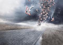 Bering - Tornado (Modern Age Studio) Tags: cinema art modern digital photoshop painting studio print 3d modeling oppression cinema4d c4d direction age nicolas retouch 4d matte compositing zbrush vray delille realflow vray4c4d
