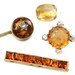 1041. Group of Citrine Jewels and a Loose Stone