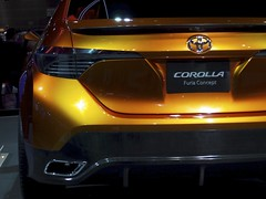 Toyota Corolla Furia Concept (smaedli) Tags: chicago illinois unitedstates autoshow automotive transportation chicagoautoshow olympusep3 mzuiko135561442mm olympusmzuikodigitaled1442mmf3556iir