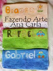 kit toalhinha (Ana Carla_Fazendo Arte) Tags: baby bebê patchwork menina menino rosto toalhinha toalharosta