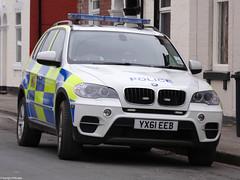 Humberside Police BMW X5 Armed Response Vehicle (PFB-999) Tags: car call police scene 101 bmw vehicle leds hull job grilles battenburg response unit firearms armed x5 on lightbar humberside arv fendoffs dashlight yx61eeb