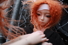 IMG_9045 (rykaan) Tags: red ball asian twins doll twin dreaming curly mohair bjd freckles abjd airi jointed balljointeddoll ddoll dreamingdoll