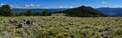 Panorama Pampa Quinchol (Mono Andes) Tags: chile panorama tim lieve andes tess javier pipi tente parquenacional maida volcánlanín volcánvillarrica chilecentral parquenacionalhuerquehue regióndelaaraucanía