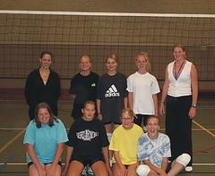 2002 Meisjes B3 - Trs. Mirjam Kampherbeek en Janette Meyer