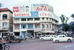 Street Scene Saigon 8-67 - Ngã tư Lê Lợi-Pasteur (manhhai) Tags: streetscene 1967 saigon southvietnam