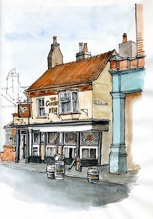 The Corner Pin, Tanner Row, York