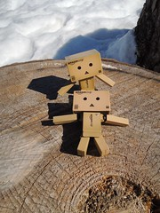 The sunbathing... (Damien Saint-é) Tags: toy amazon vinyl yotsuba danbo amazoncojp revoltech danboard