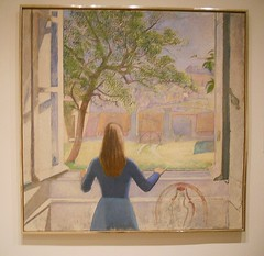 Sunday Colours at the Met - Almost Spring, Time to Open the Windows (pusapoze (very slow)) Tags: newyorkcity themet balthus balthasarklossowski