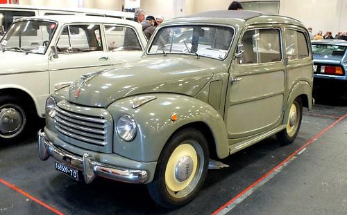 Fiat 500 Belvedere 1954-55