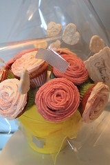 Cupcake Bouquet (crayonmonkey) Tags: party food flower cute rose cake miniature baking yummy decoration celebration cupcake gift bouquet