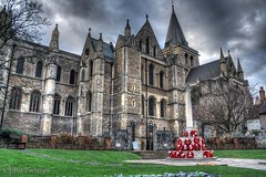 Rochester Cathedral (Ellis Pictures) Tags: