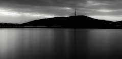 25/365 - Telstra tower (C.Murray) Tags: tower australia explore telstra canberra backandwhite lonexposure ndfilter