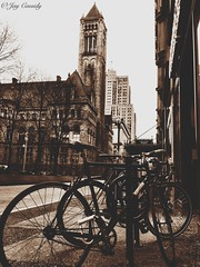 Allegheny County Courthouse - Pittsburgh, PA (JayCass84) Tags: street city urban building beautiful bike architecture buildings pittsburgh pennsylvania awesome streetphotography bikes streetview urbanstreetphotography urbanphotography 412 instagram instagramapp