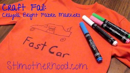 fabric markers fail