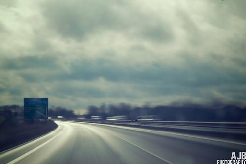 road travel blur motorway sony slowshutter roadsign 365 a580
