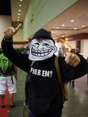 Trollface (Fernando Lenis) Tags: orlando florida cosplay megacon trollface 2013