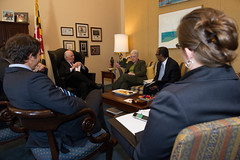 "Senator Ben Cardin meets with EPA nominee Gina McCarthy • <a style=""font-size:0.8em;"" href=""http://www.flickr.com/photos/32619231@N02/8572501472/"" target=""_blank"">View on Flickr</a>"