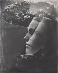Double portrait avec effet de chapeau (photosurrealiste) Tags: portrait femme chapeau photomontage fminin surralisme doramaar tranget