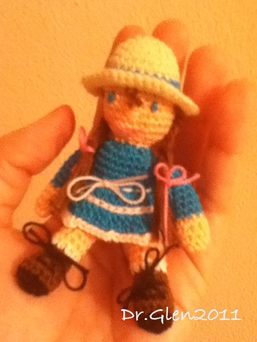 Little Amigurumi Doll