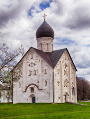 Church of the Transfiguration of Savior. 1374. Novgorod.   . . (Peer.Gynt) Tags: church transfiguration savior novgorod  1374