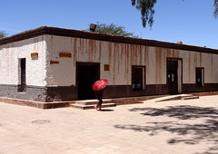 The city hall of san Pedro (Phoebus58) Tags: chile mountain chili desert atacama desierto altiplano sanpedrodeatacama chilidesertdatacama