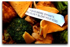 No need to be careful with matches... (Brad Worrell) Tags: funny fortunecookie humor laugh giggle yuk