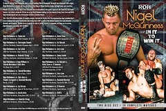 "ROH DVD ""NIGEL MCGUINNESS:In It To Win It"" (Freebirds Taka) Tags: dvd wrestling ringofhonor roh indywrestling nigelmcguinness リング・オブ・オナー プロレスdvd ナイジェル・マッギネス"
