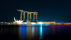 Marina Bay Sands (gnohiz) Tags: night marina scenery singapore mbs marinabay marinabaysands