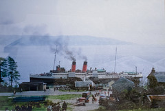 King George V Blairmore - Saturday 1 May 1971 (ianandlaura.ferguson) Tags: coast scotland clyde turbine steamers blairmore kinggeorgev crsc