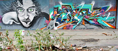 mouarf/saner (KGB Click) Tags: paris color wall writing graffiti paint character letters spot peinture writer graff perso couleur lettres kgb wildstyle hva vitry lettrage saner mouarf ptdq kgbclick