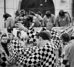 Battle of the Oranges - XIII (igor29768) Tags: street carnival people italy orange lumix italia candid chess battle panasonic piemonte carnevale piedmont ivrea battaglia arancia scacchi arance 100300mm gf1