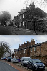 Rose Brow, Gateacre, 1971 and 2013 (Keithjones84) Tags: liverpool merseyside oldliverpool old oldphotos city thenandnow history localhistory street comparison rephotography