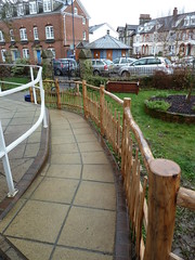 "Rustic Chestnut fence • <a style=""font-size:0.8em;"" href=""http://www.flickr.com/photos/61957374@N08/8593684754/"" target=""_blank"">View on Flickr</a>"