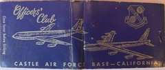 OFFICER'S CLUB CASTLE AIR FORCE BASE ATWATER CALIFORNIA (ussiwojima) Tags: california castle bar club restaurant force air lounge cocktail atwater base officersclub castleairforcebase