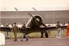 Gary Numan and his Harvard G-AZSC, Fly-in, North Weald 06-10-96 (Richard.Crockett 64) Tags: harvard 1996 ww2 essex trainer texan flyin airfield t6 worldwartwo garynuman northamerican usaaf northweald noorduyn at16 unitedstatesarmyairforce gazsc machinemusicltd