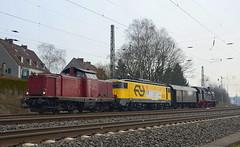 V100 2335 NESA (vsoe) Tags: train germany deutschland v100 engine eisenbahn rail railway nrw bahn nordrheinwestfalen mak lok zge diesellok westhofen nesa berfhrungsfahrt