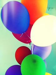 Balloons by derekskey, on Flickr