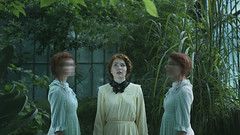 Greenhouse Daughters - 7 (Miriam Valle) Tags: fineart fineartphotography cover girls victorian greenhouse redhead invernadero cinematogreaphic film
